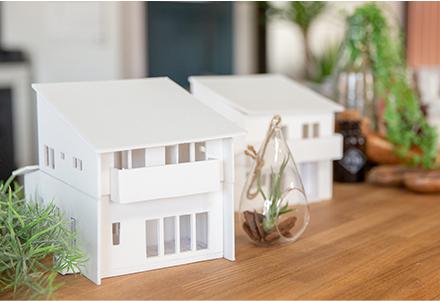 家の模型の写真